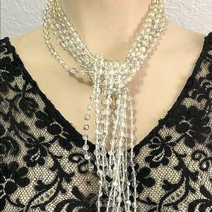 Gloria Astolfo Open End Multi Strand Necklace
